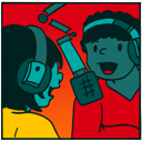 Podcasting class icon